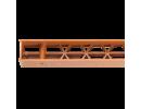 Apakšmalas ventilācijas elements bez bārkstīm
