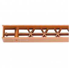 Jumtu pakšmalas ventilācijas elements bez bārkstīm