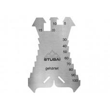 STUBAI šablons 140x100x1.3 mm