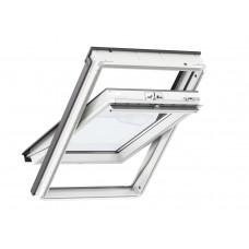 VELUX Standard jumta logs ar rokturi vērtnes apakšā un poliuretāna pārklājumu 66 x 118