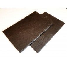 Slānekļa galda paliktnis / servēšanas plate 30 x 20 cm - 2 gab